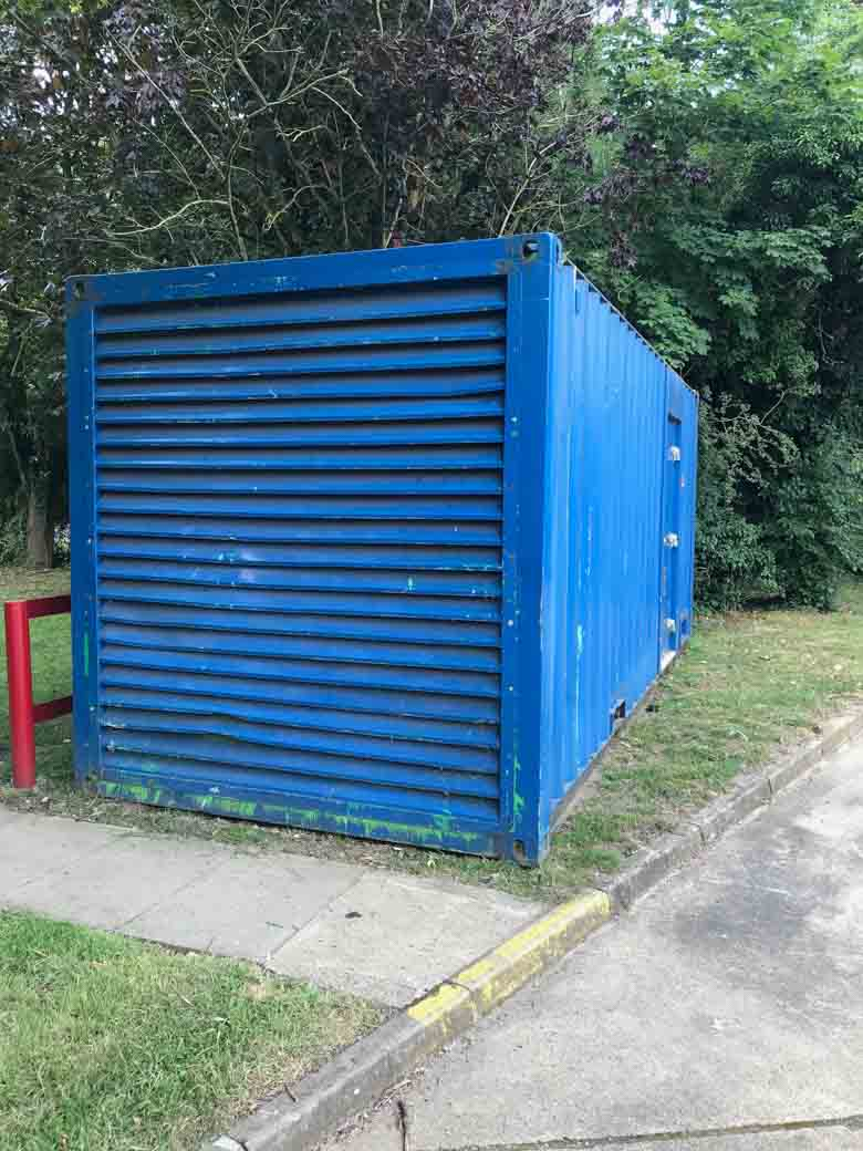 Used 20ft Acoustic Container