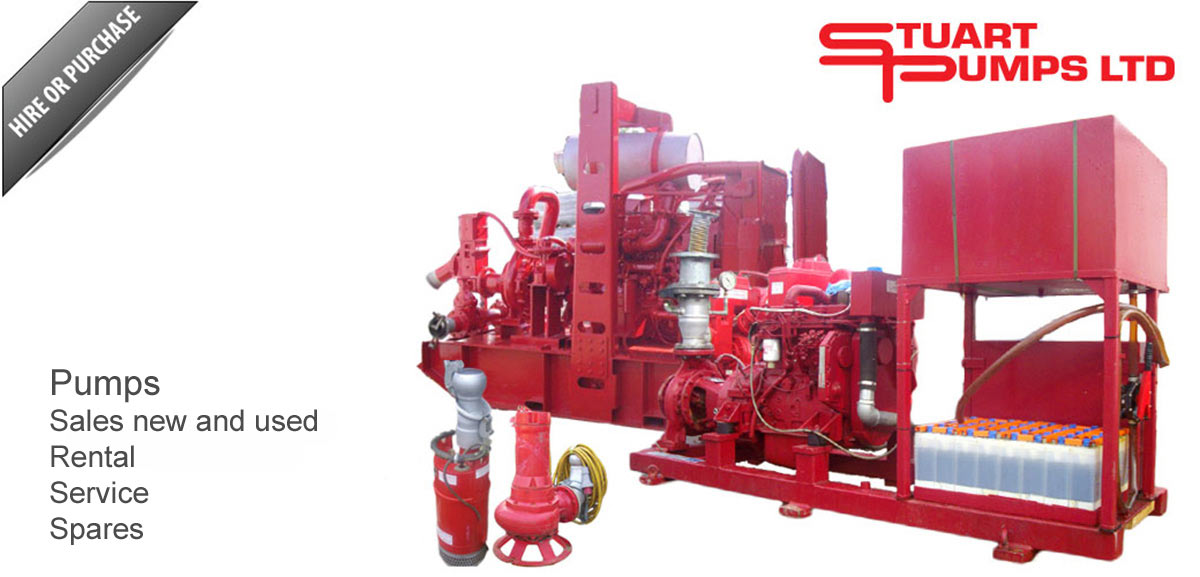 pumps for sales and rent
