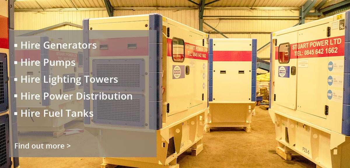 New and Used Power Generators, stuart energy