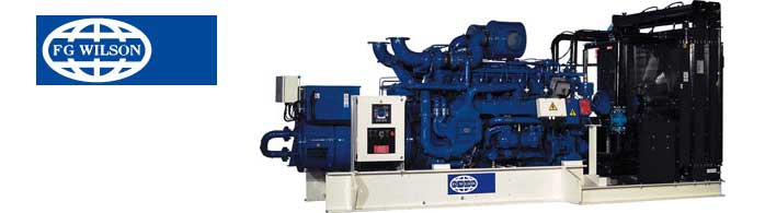 FG Wilson Gas Generators powered by Perkins Engines | Stuart