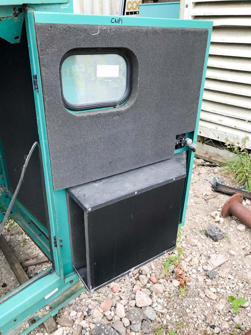Ex Cummins Generator acoustic enclosure