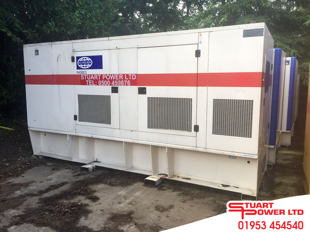 P4001 - 400kVA FG Wilson Generator With Close Fit Enclosure.