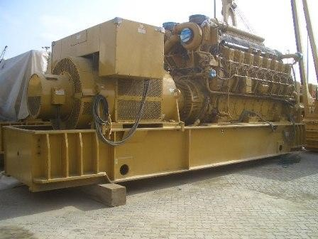 G3616-1-2 HV - 4500kVA Caterpillar Gas Generators