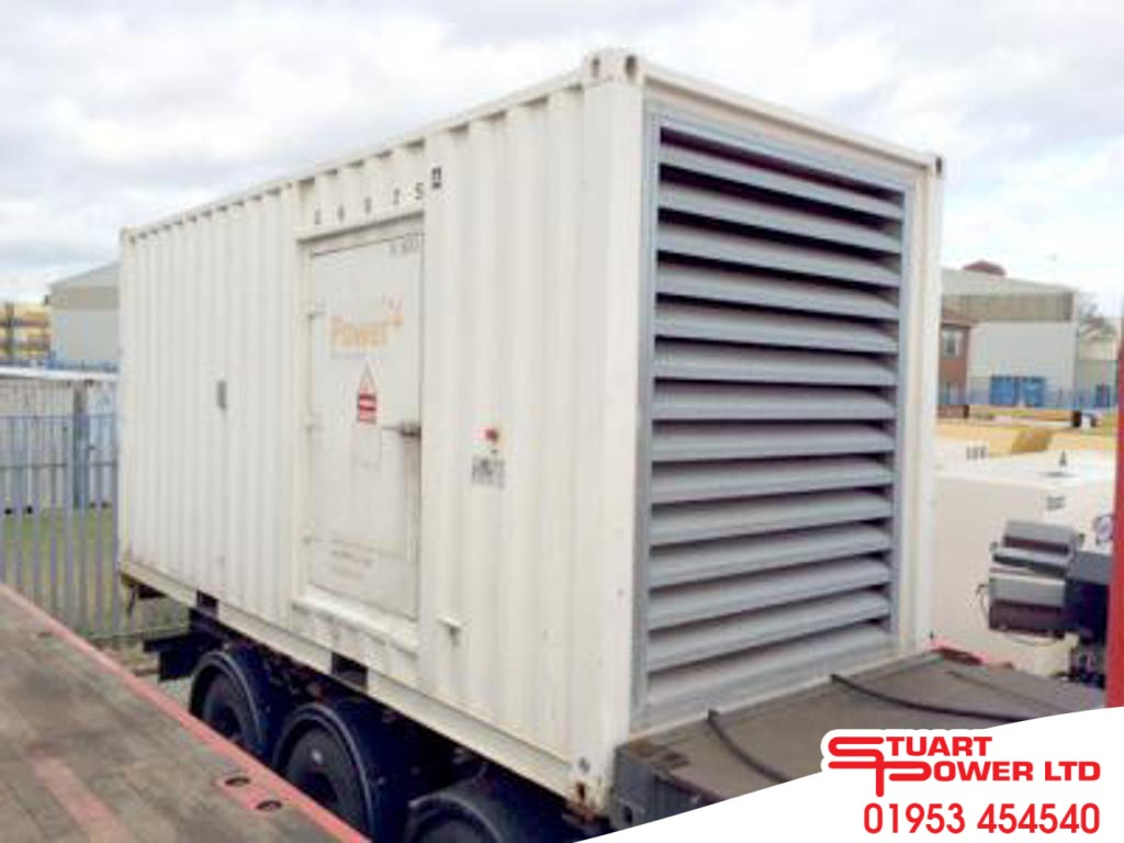 SDMO 770kVA Generator With ISO-Container