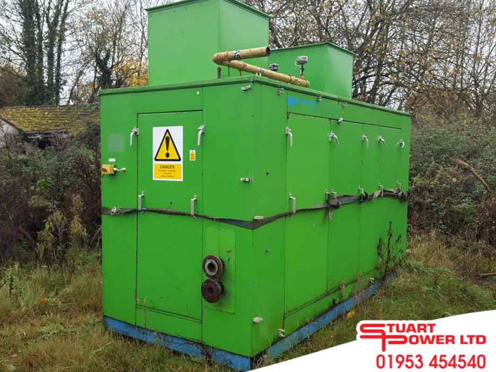 180kVA CHP Gas Generator for sale