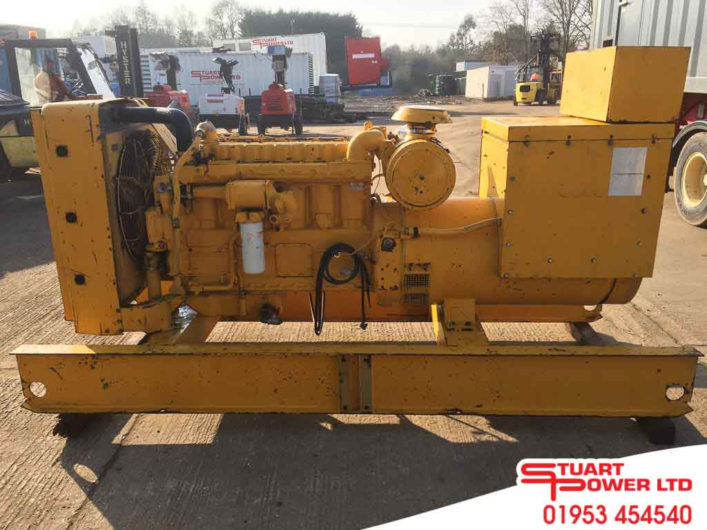 Used Diesel Gas Generators For Sale Stuart Group Ltd The Inside Of Generator Inlet Box With Connections Made Click 1