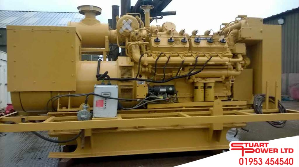 New and used diesel generators for sale and hire stuart for Used motor oil generator