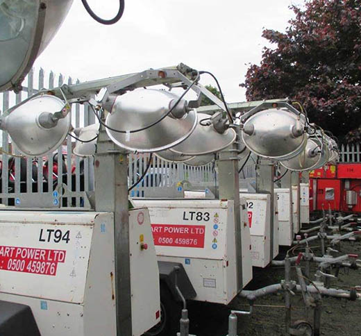 New And Used Lighting Towers