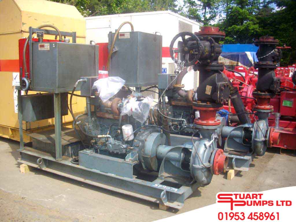 Fire Protection | New and Used Fire Pumps | Stuart Pumps Ltd