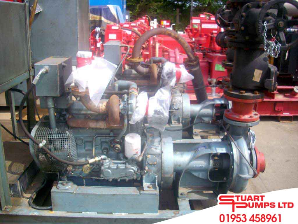 Fire Protection   New and Used Fire Pumps   Stuart Pumps Ltd