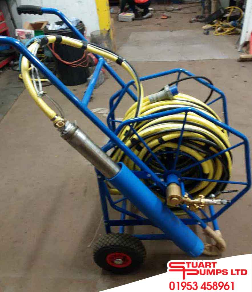 Portable Submersible Pump & Hose Trolley