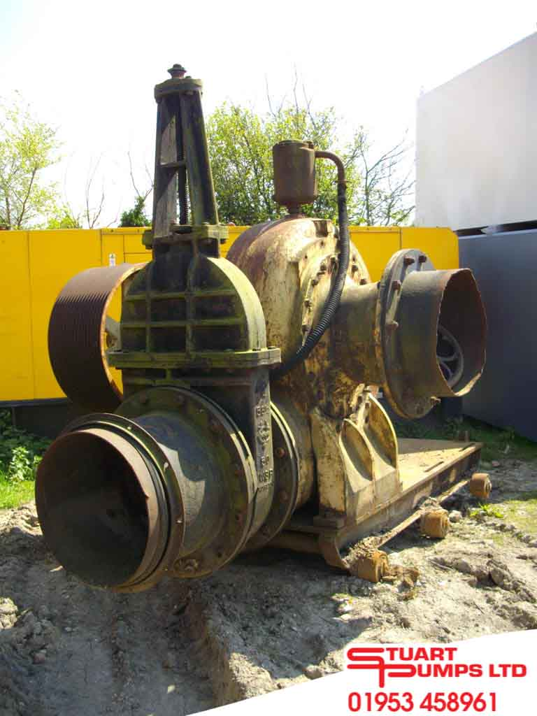 Bronze Impeller, Open Channel Pump