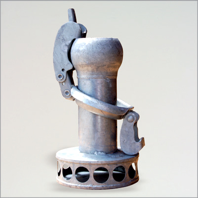 Steel Strainers with male Bauer coupling