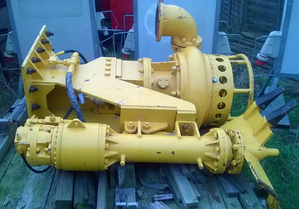 Quarry Pumps, Dredge Pumps, Gravel Pumps and Hydraulic operated