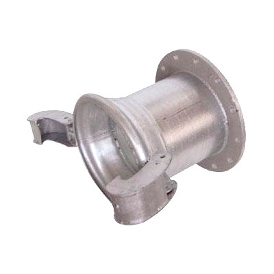 Large Bore Flanged Quick Action Coupling Female