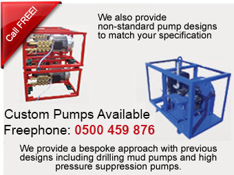 We can build you a custom pump to match your bespoke requirement